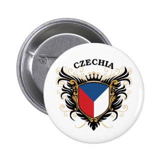 Czechia Pin Redondo De 2 Pulgadas