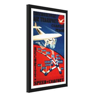 Czechoslovak Air Transport Canvas Print