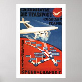 Czechoslovak Air Transport Print