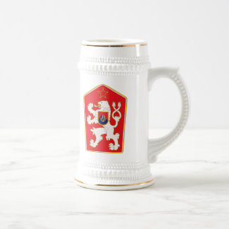 Czechoslovakia Coat of Arms 1960 Mug