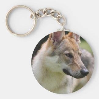 Czechoslovakian Wolfdog Keychain