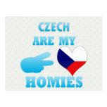 Czechs are my Homies Post Cards