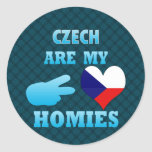 Czechs are my Homies Stickers