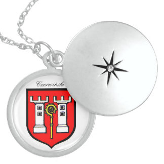 CZERWINSKI FAMILY CREST STERLING SILVER NECKLACE