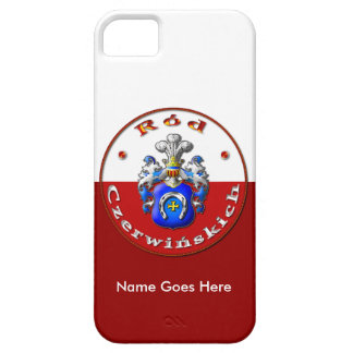 Czerwińskich Family Crest Barely There iPhone 5/5S iPhone 5 Covers