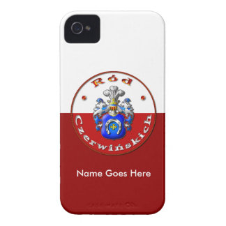 Czerwińskich Family Crest  iPhone 4 Barely There iPhone 4 Cases