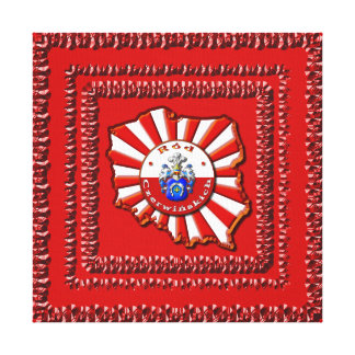 Czerwińskich Family Crest Stretched Canvas Prints