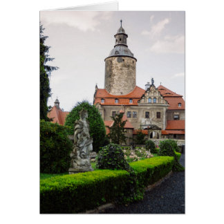 Czocha Castle in Poland, Medieval Architecture Card