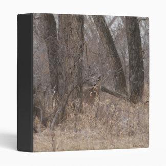 D0002 White-tailed Deer 3 Ring Binder