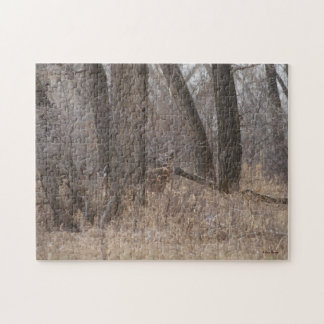 D0002 White-tailed Deer Jigsaw Puzzle