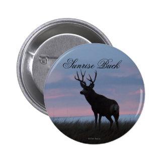 D0003 Mule Deer Buck Button