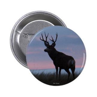 D0003 Mule Deer Sunrise Buck button
