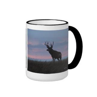 D0003 Mule Deer Sunrise Buck mug