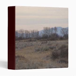 D0004 Mule Deer Buck and Sweet Grass Hills Binder
