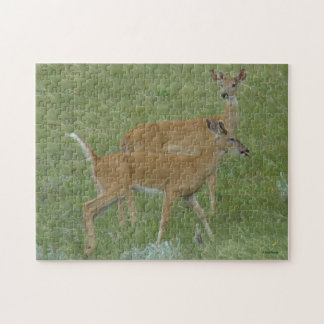 D0006 White-tailed Deer Jigsaw Puzzle