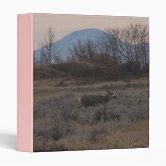 D0012 Mule Deer Sweet Grass Hills Binder