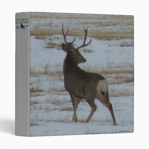 D0015 Mule Deer Buck binder