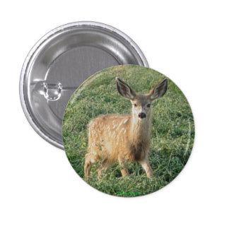 D0019 Mule Deer Fawn Button