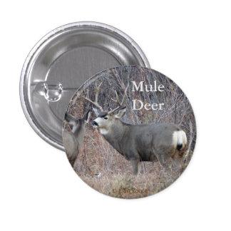 D0029 Mule Deer Pinback Button