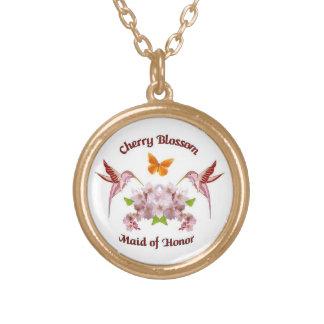 D01 Cherry Blossom Maid of Honor Pendant