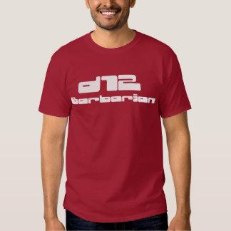 d12-Barbarian Camisas