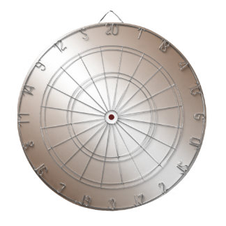 D1 Bi-Linear Gradient - Brown and White Dart Board