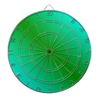D1 Bi-Linear Gradient - Cyan and Green Dartboard