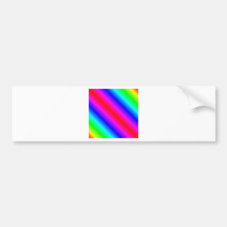 D1 Bi-Linear Gradient - Rainbow Bumper Sticker