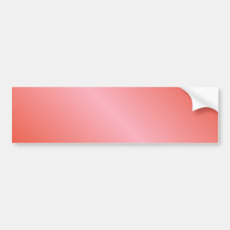 D1 Bi-Linear Gradient - Red and Pink Bumper Sticker