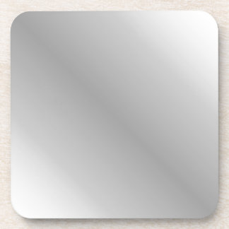 D1 Bi-Linear Gradient - White and Gray Coaster
