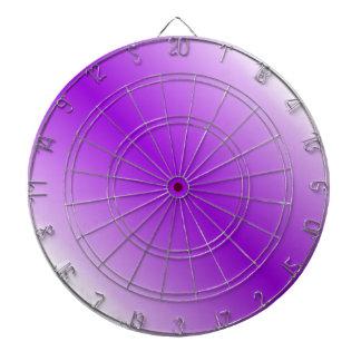 D1 Bi-Linear Gradient - White and Violet Dartboards
