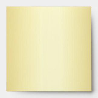 D1 Gold on Gold Damask Envelope