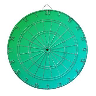 D1 Linear Gradient - Green to Cyan Dart Boards