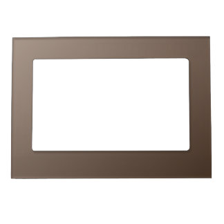 D1 Linear Gradient - Light Brown to Dark Brown Magnetic Frame
