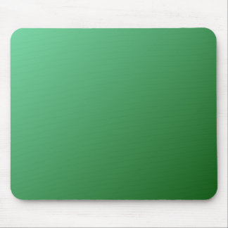 D1 Linear Gradient - Light Green to Dark Green Mouse Pad