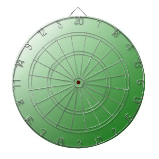 D1 Linear Gradient - White to Green Dartboards