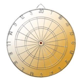 D1 Linear Gradient - White to Orange Dart Board