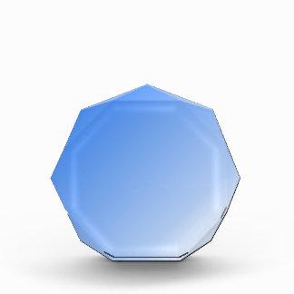 D1 pendiente linear - azul al blanco
