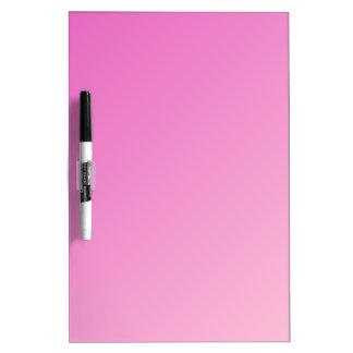 D1 pendiente linear - rosa oscuro a rosa claro pizarras blancas