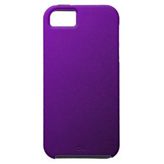 D1 pendiente linear - violeta al negro iPhone 5 carcasa