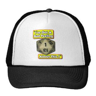 d20 Bad Feeling Trucker Hat