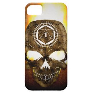 d20 Critical Fail Death Skull iPhone SE/5/5s Case