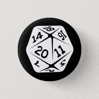 d20 geek swag button