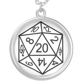 D20 Necklace