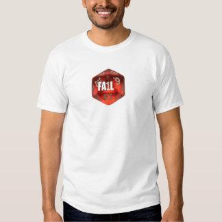 d20 of Fail T-shirt