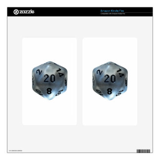D20 SKINS FOR KINDLE FIRE