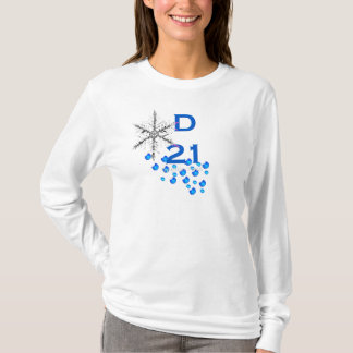 D21 Women's Fitted Hoodie