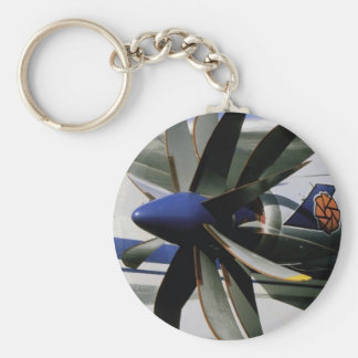 D27 Propfan, experimental, Russia Basic Round Button Keychain