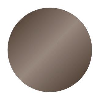 D2 Bi-Linear Gradient - Dark Brown and Light Brown Set Of Poker Chips