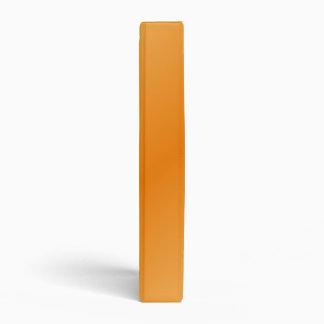 D2 Bi-Linear Gradient-Light Orange and Dark Orange Vinyl Binder